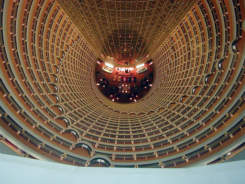 File:Jin Mao Tower lobby (2006).jpg