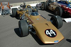 Joe Leonard - The Eagle driven to 6th place by Leonard in the 1969 Indianapolis 500