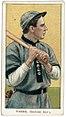 Joe Tinker, Chicago Cubs, baseball card portrait LCCN2008676400.jpg