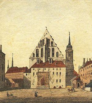 Organ Sonatas (Bach) - Sophienkirche, Dresden, 1800