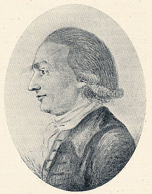 Johann Georg Hamann - Johann Georg Hamann (20th century drawing)
