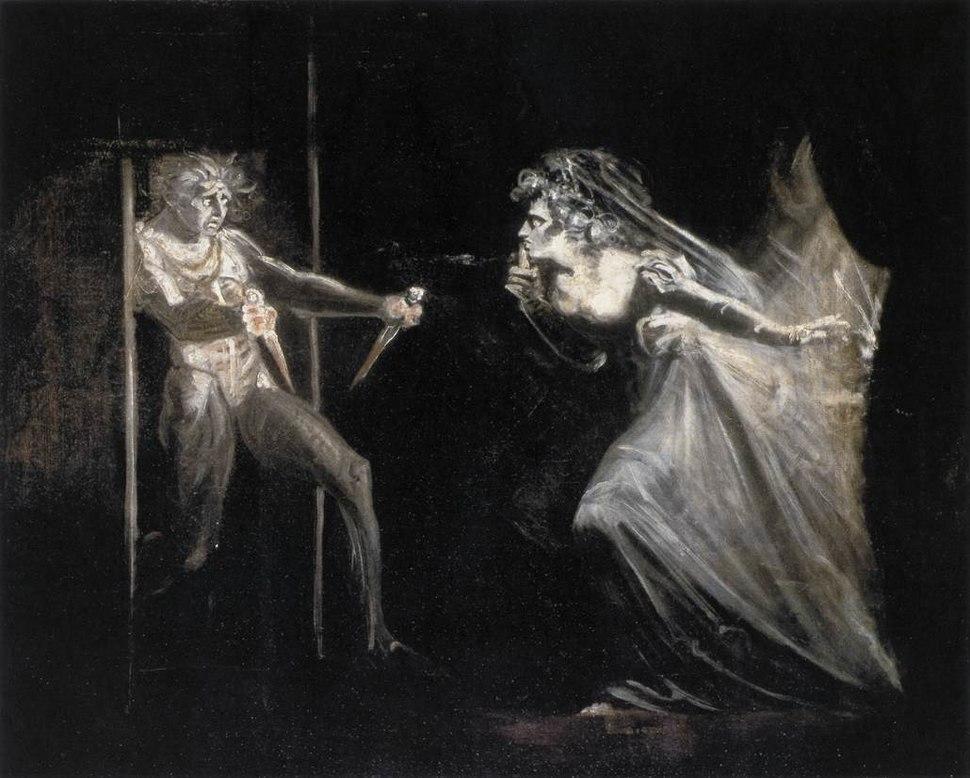Johann Heinrich Füssli - Lady Macbeth with the Daggers - WGA8338