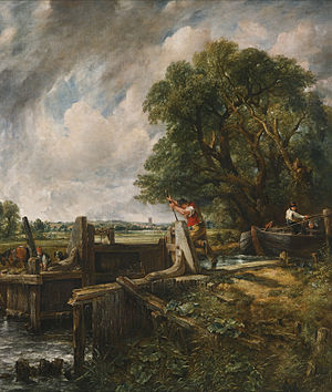 The Lock (Constable) - Foster version