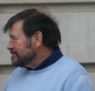 John Dalgleish Donaldson - Donaldson at Hubertus hunt in Jægersborg Dyrehave, 2009