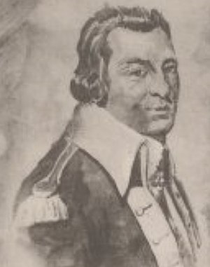 John Morin Scott - From a 1777 drawing by John Trumbull