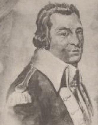 John Morin Scott - From a 1777 drawing by John Trumbull