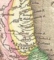 John Pinkerton. Map of Persia. 1818.F. Daghistan.jpg