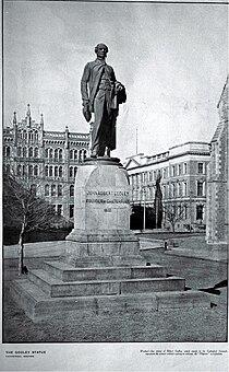 John Robert Godley statue, ca 1920s.jpg
