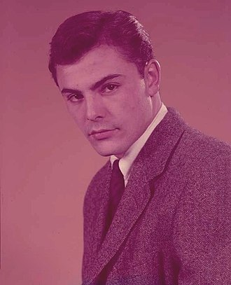 John Saxon - Saxon in 1958