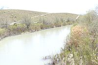 Jordan River (Utah) in Midvale.JPG