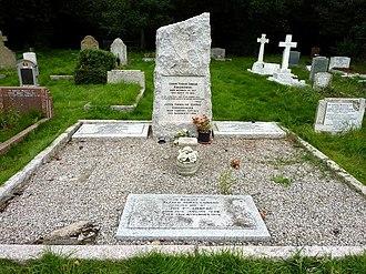 Joseph Conrad - Conrad's grave at Canterbury Cemetery, near Harbledown, Kent