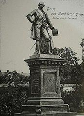 Pomník císaře Josefa II. v Lanškrouně
