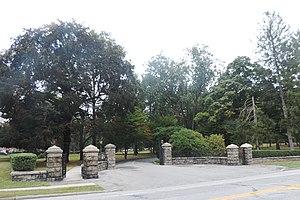 Saint Joseph's Seminary (Dunwoodie) - Campus entrance