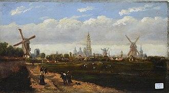 Jozef Linnig - Dutch landscape
