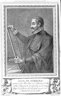Juan de Herrera Spanish architect