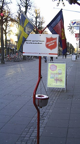 Christmas Kettle - A Christmas kettle in Sweden
