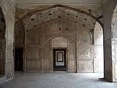July 9 2005 - The Lahore Fort-Doorways of sleeping chambers.jpg
