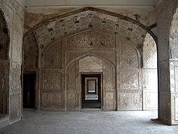 July 9 2005 - The Lahore Fort-Doorways of sleeping chambers.jpg