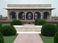 Diwan-e-Khas: The hall of special audience with the emperor