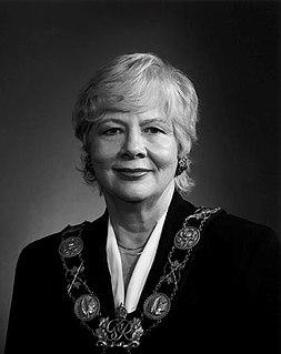 June Rowlands Canadian mayor