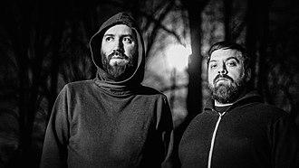 Junius (band) - Joseph E. Martinez and Dana Filloon of Junius