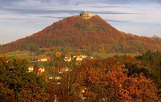 Küssaburg castle ruin in Germany