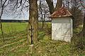 Kříž a boží muka severně od obce, Těmice, okres Pelhřimov.jpg