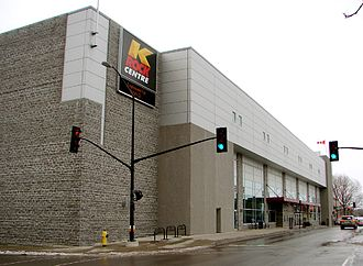 Leon's Centre - The exterior of the then K-Rock Centre