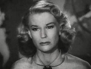 K. T. Stevens - K. T. Stevens in Harriet Craig (1950)