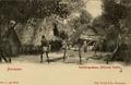 KITLV - 1405635 - Bromet & Co. - Paramaribo - Surinam Bushnegro Camp (Marous) Cottica No. 6 3rd series - 1895-1910.tif