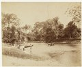 KITLV - 40329 - Stafhell & Kleingrothe - Medan - Crossing and ferry at Belawan in Deli - circa 1890.tif