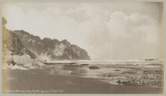 KITLV 12586 - Kassian Céphas - The cliff on the coast at Parang'ndog Mantjingan - 1897-04-17.tif