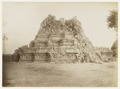 KITLV 29215 - Céphas - Shiva Temple with on the stairs photographer Kassian Céphas, Prambanan - Around 1895.tif