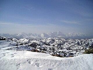 Djurdjura mountain in Algeria