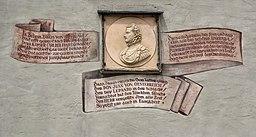 Kaiserherberge - Inschrift für Don Juan de Austria