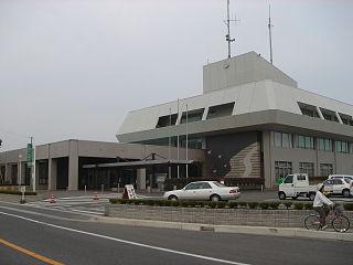 Kaizu City in Chūbu, Japan