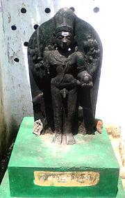 Kalabhairava Statue at Lord Shiva Temple in Adavivaram 02