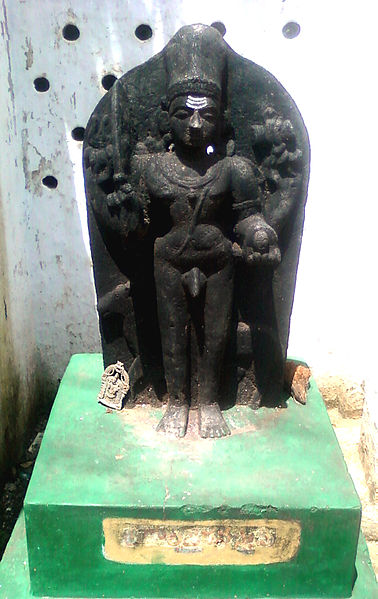File:Kalabhairava Statue at Lord Shiva Temple in Adavivaram 02.jpg