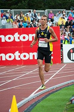 Kalevan Kisat 2018 - Men's 5000 m - Martti Siikaluoma 2.jpg