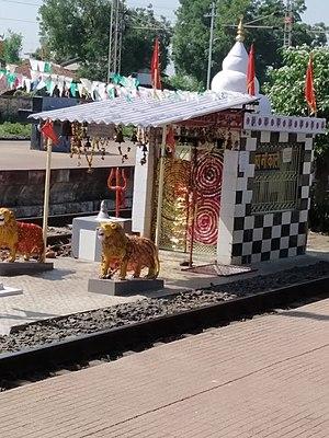 Howrah–Nagpur–Mumbai line - Image: Kali Maa temple