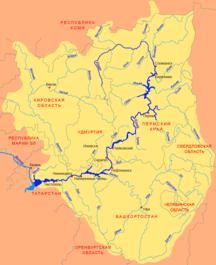 Baskortostán--Kama basin