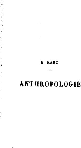 File:Kant - Anthropologie.djvu