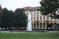 Karlsruhe, der Friedrichsplatz.JPG
