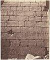Karnak (Thèbes), Palais - Salle Hypostyle - Décoration de la Paroi Intérieure au Point L MET DP71377.jpg