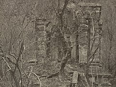 Kashmir Hindu temple ruins, 1868 photo.jpg