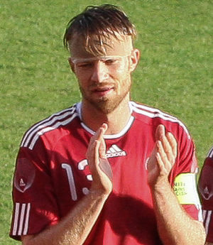 Kaspars Gorkšs - Gorkšs playing for Latvia in 2011