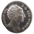 Kastpenning med Karl XIIs profil, 1719 - Livrustkammaren - 100562.tif