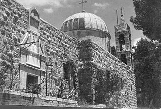 Katamon - St Simeon. 1948