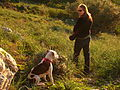 Kate and her new dog (356565890).jpg