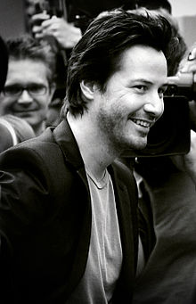 Reeves in September 2006 by die Londense premiere van The Lake House.